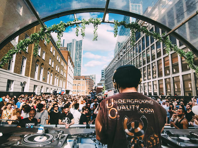 Krankbrother's Shoreditch Street Party