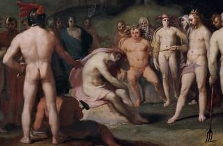 Júpiter y los demás dioses urgen a Apolo a retomar las riendas del carro del Día