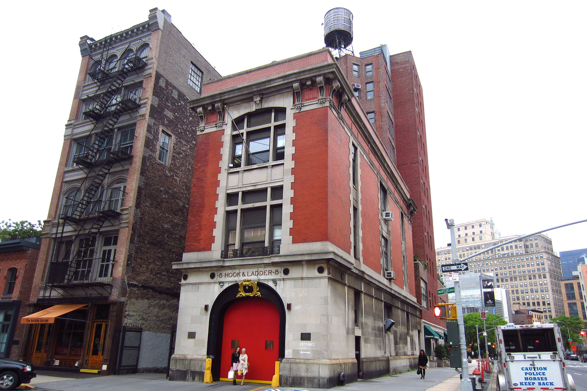 Fire station from Ghostbusters