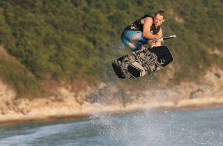 Wakeboarding in Hong Kong