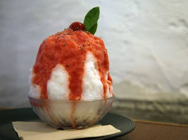 3pm-5pm ▶ Cool off from the heat with tomato bingsu