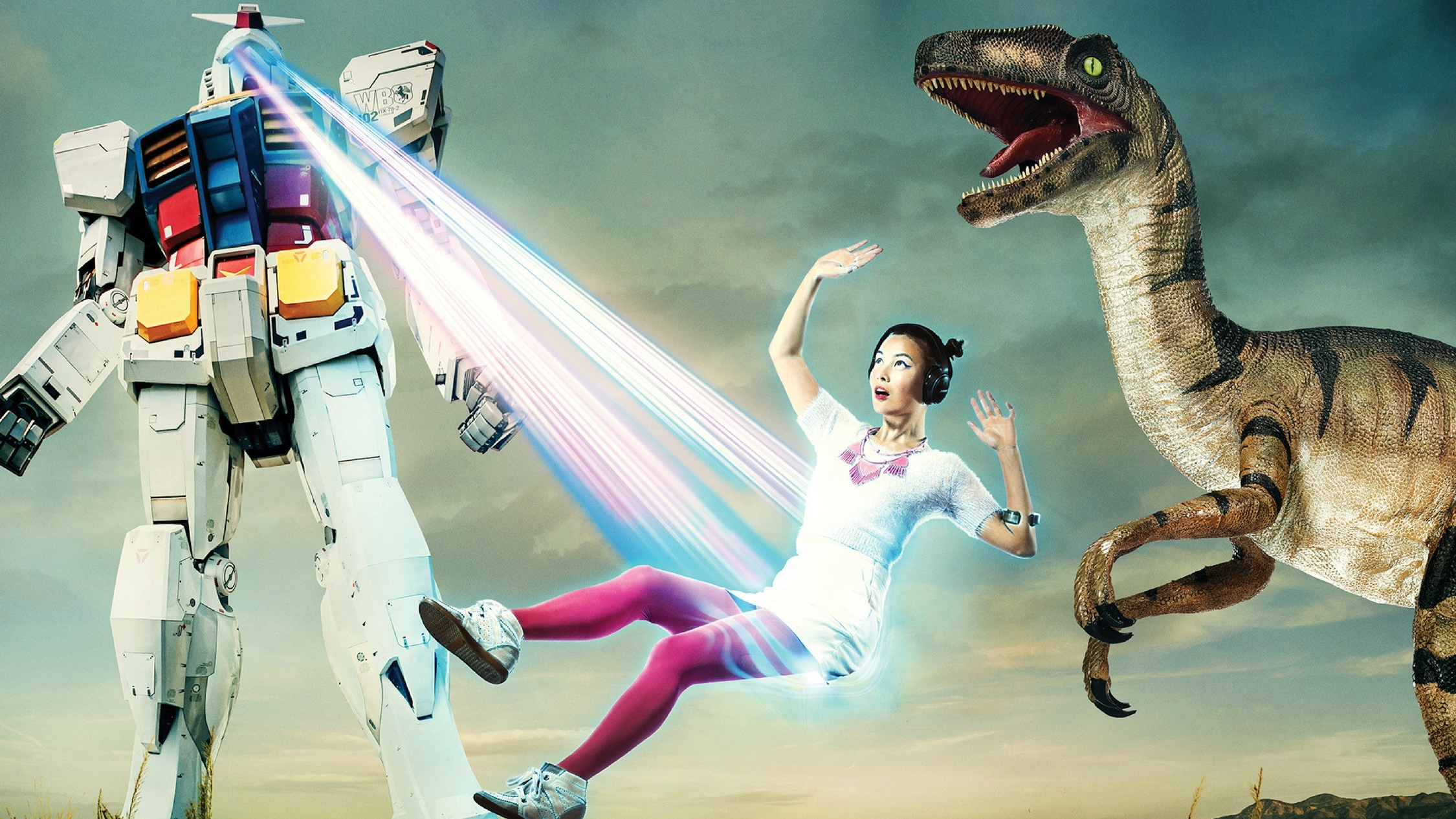 Win a double pass to Jurassic Lounge: Robots vs Dinosaurs