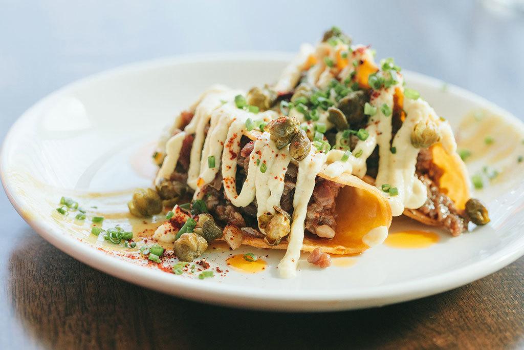 Ribeye taco at Publico