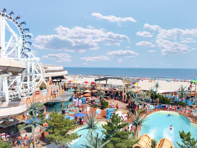 Water parks to visit this summer