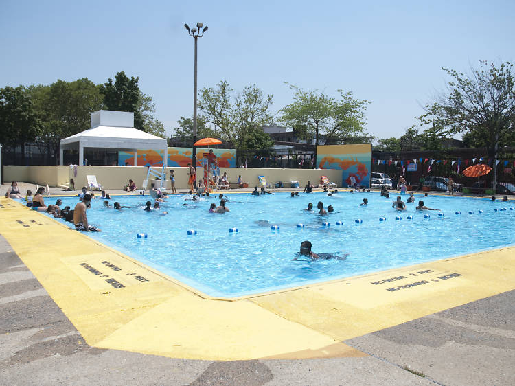 Douglass and Degraw pool
