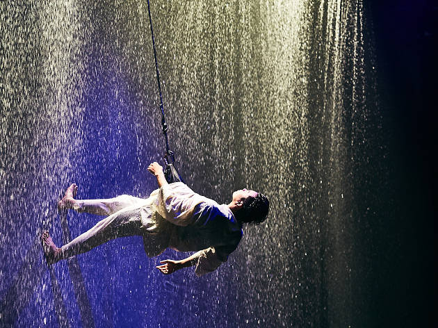 Watch the preview of Fuerza Bruta – WA! Wonder Japan Experience here