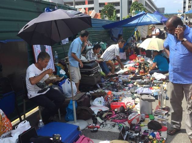 July 10 is the last day of operations for Sungei Road Thieves Market