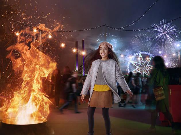 City of Melbourne Docklands Firelight Festival