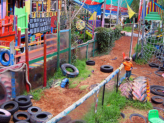St Kilda adventure playground do not use