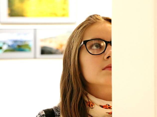 10am - 12am  ▶ Enjoy a free art exhibition or movie screening