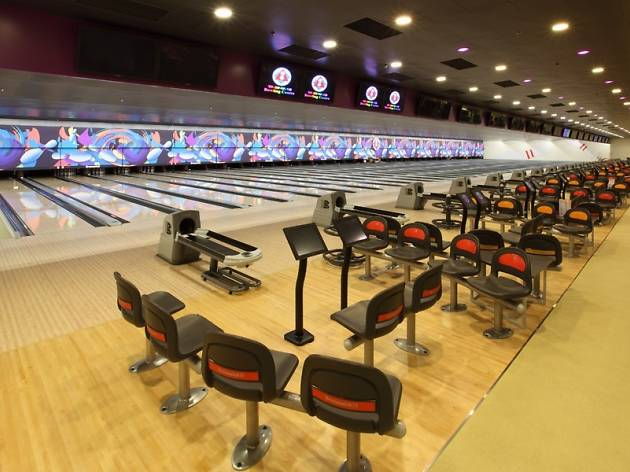 Convenient and spacious: SCAA Bowling Centre