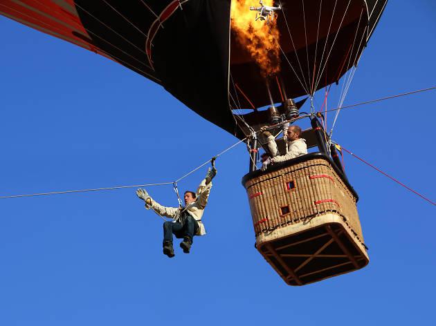 Du cirque en montgolfière au Parc de Sceaux le 24 juin