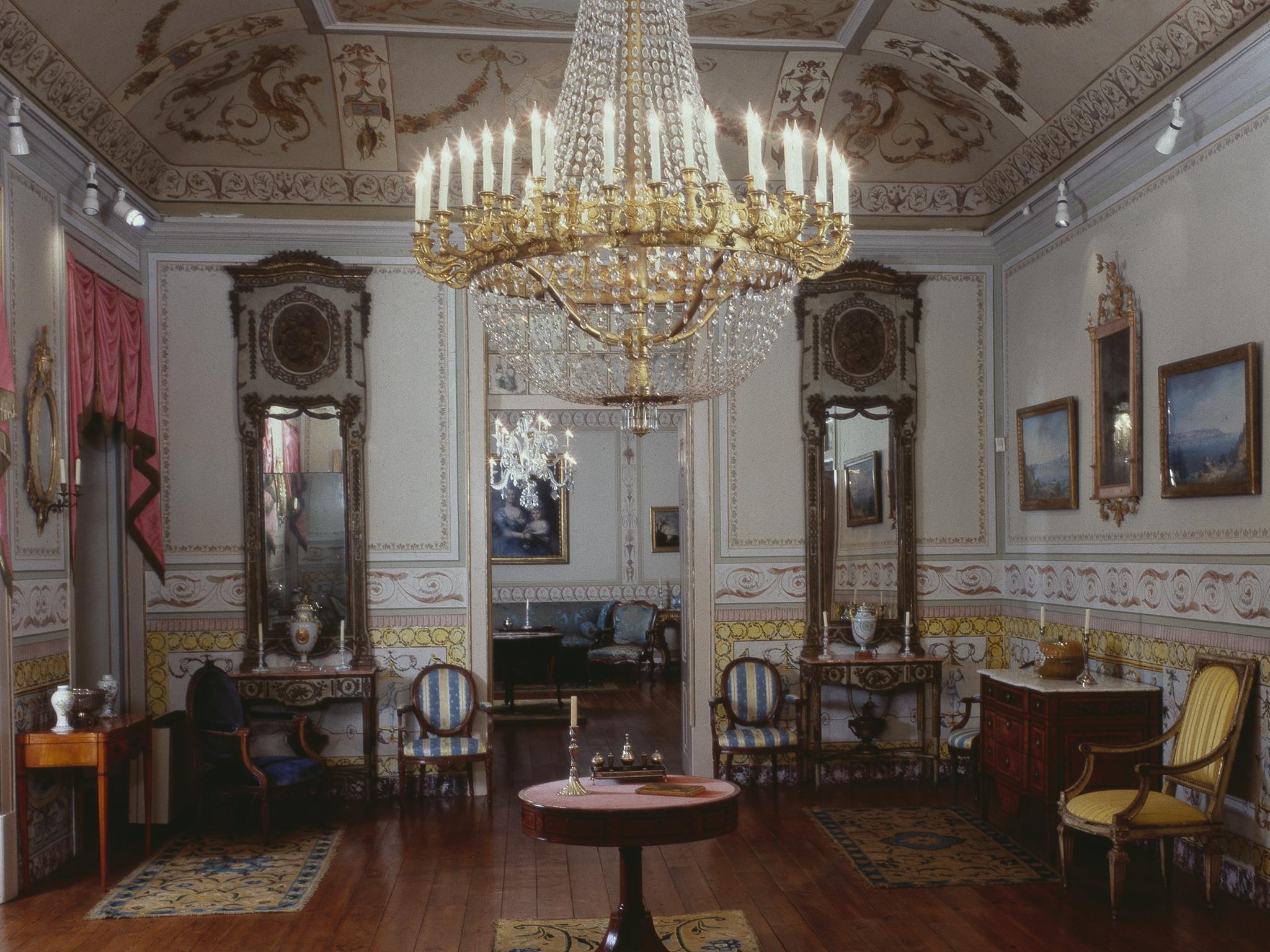 Entre num salão do século XV