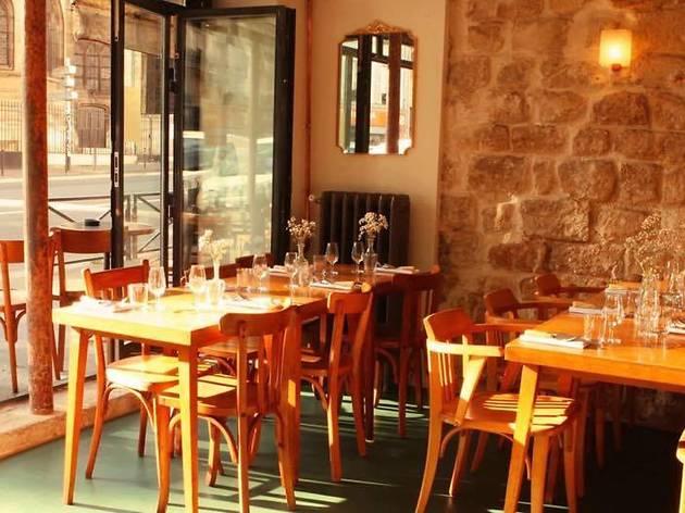 marrow restaurants canal saint martin paris. Black Bedroom Furniture Sets. Home Design Ideas