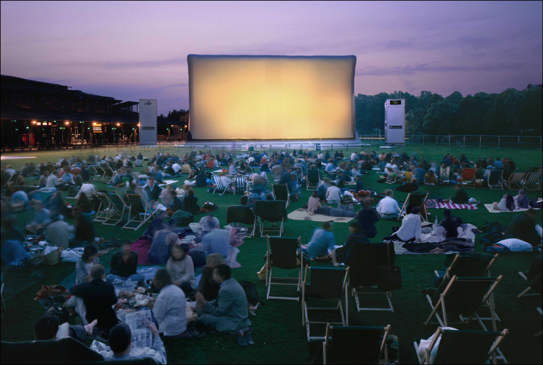 Le Cinéma en plein air de la Villette