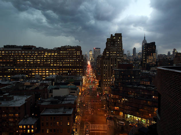 NYC could see four inches of rain and severe thunderstorms today