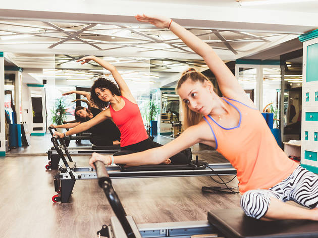 Pilates on the reformer