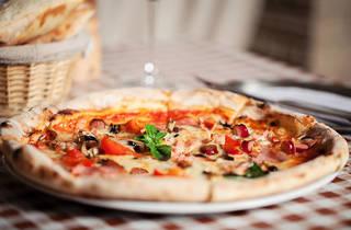 Pizza at PizzaRev Miami