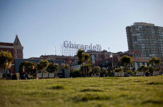 San Francisco Brewing Co opens a beer garden in Ghirardelli Square