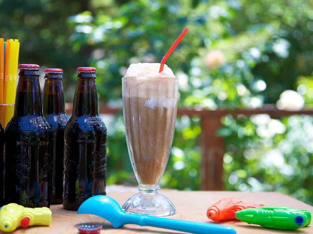 Celebrate National Ice Cream Soda Day and National Vanilla Milkshake Day in NYC!