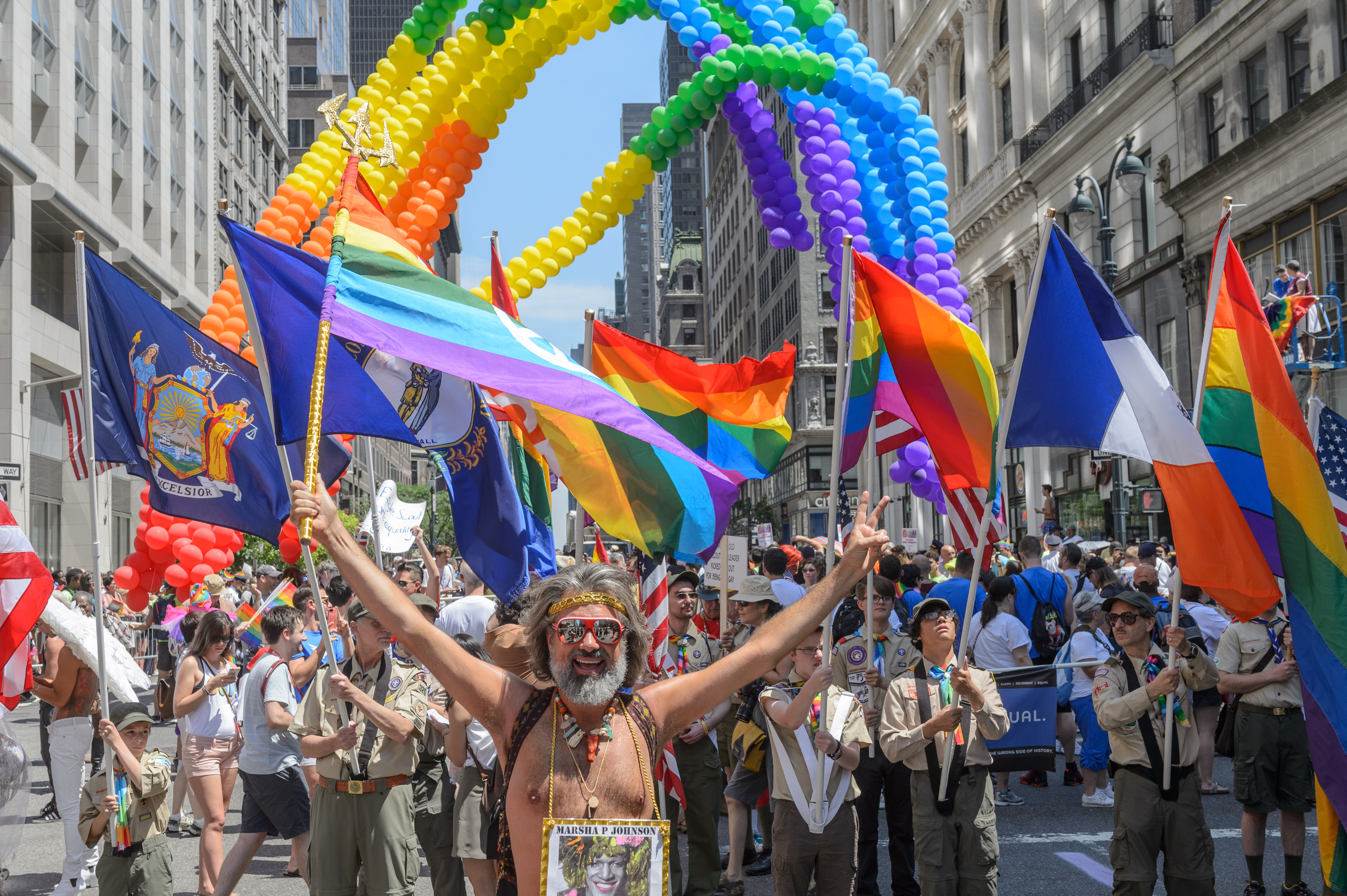 "This year's Pride March will be led by a ""resistance"" contingent"