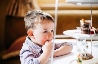 Kids high tea at The Hotel Windsor