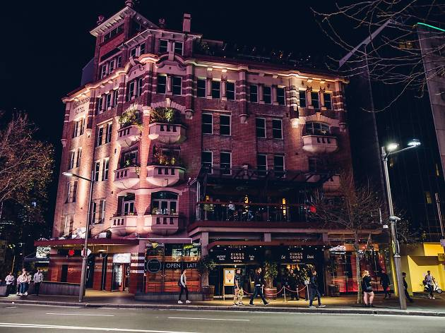 Kings Cross Hotel exterior supplied