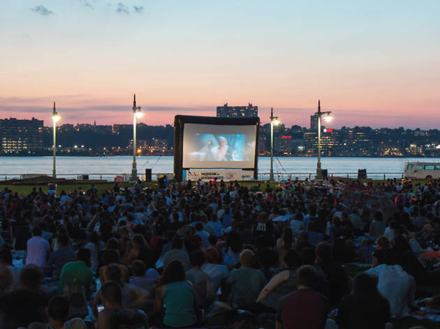 A film series with stunning views is coming to Hudson River Park this summer