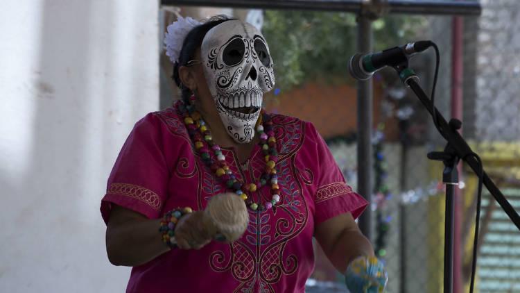 Jornada cultural en Iztapalapa