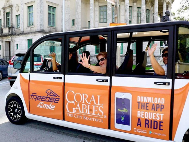 Miami's ultimate free ride is now available in Coral Gables