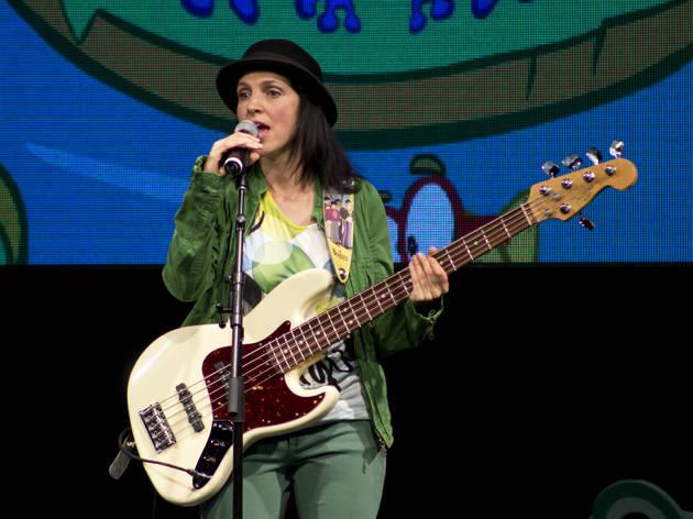 Gaby Vega y los nubecinos en concierto