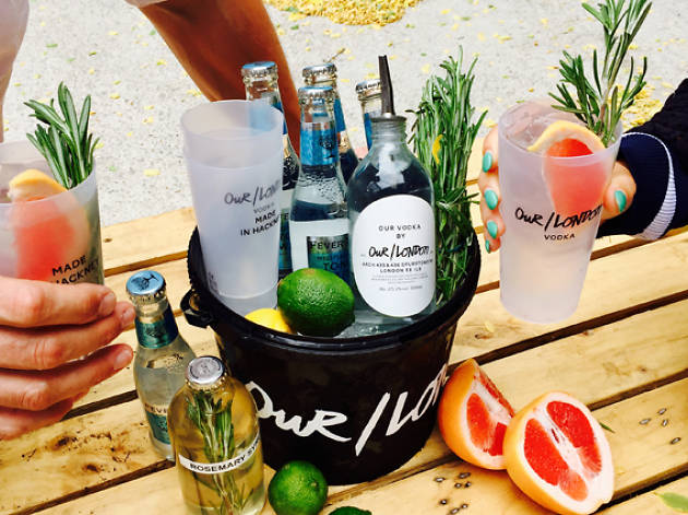 Our/London Vodka @ Hackney Downs