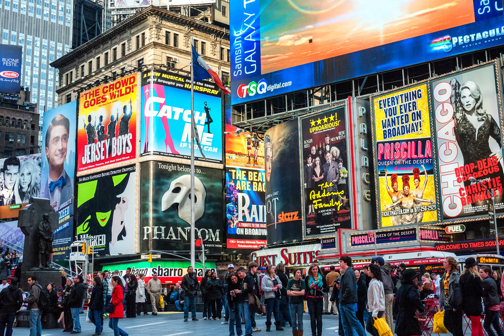 Best plays for kids of all ages around new york city for Things to do around times square