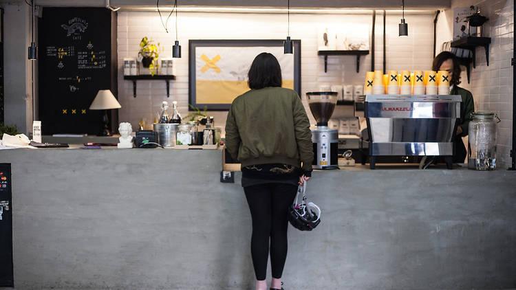 Barras rápidas de café en la CDMX