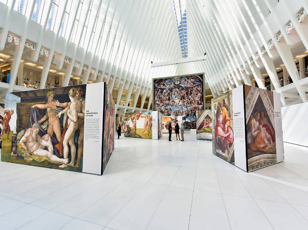 Michelangelo's Sistine Chapel has been recreated at the Oculus
