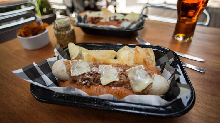 Hot dogs en la Ciudad de México
