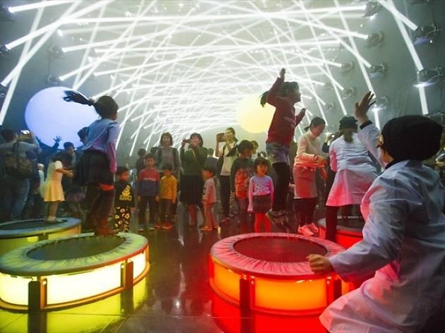 バイトル presents チームラボジャングルと学ぶ!未来の遊園地