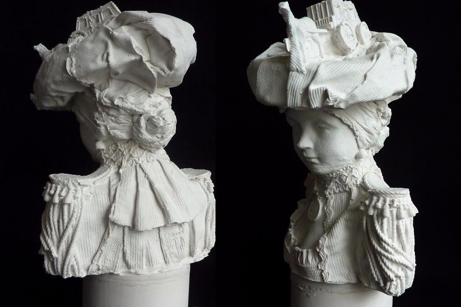 The Plaster Bust Re-imagined, Kathy Dalwood