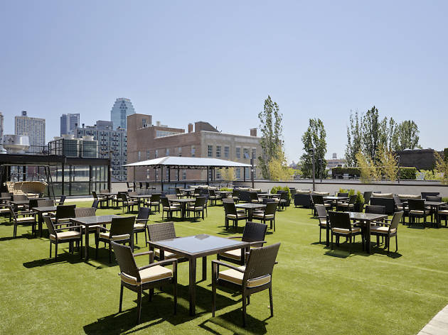 An incredible new rooftop beer garden has opened in Queens