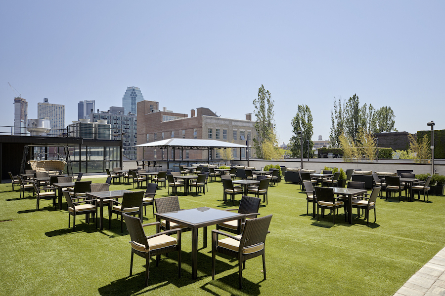 An incredible new rooftop beer garden has opened in Queens