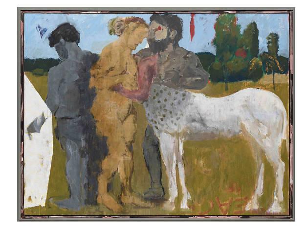 """Markus Lüpertz: New Paintings"""