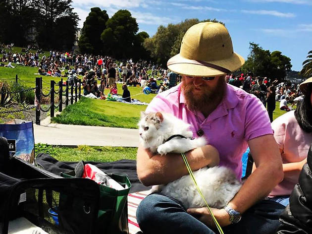 First Caturday at Dolores Park