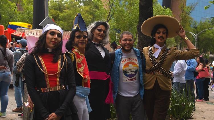 Marcha del Orgullo LGBTTTI en la CDMX