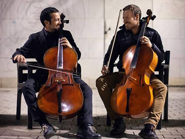 Música als Parcs 2017: Lofoten Cello Duo