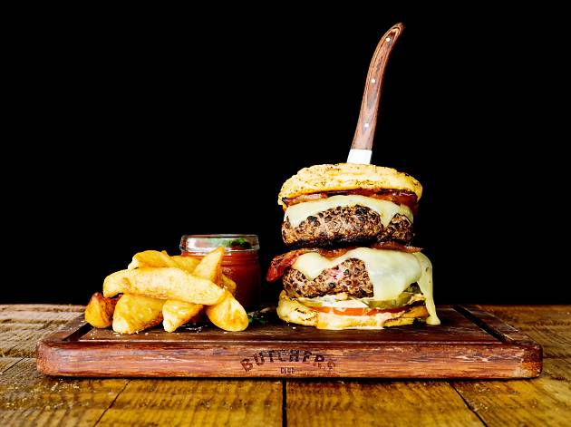 The Butchers Club Burger