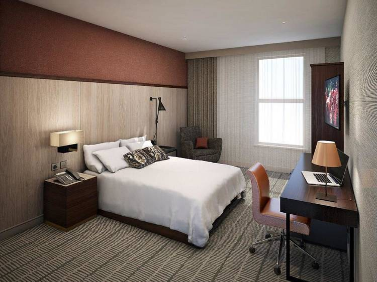 Doubletree à Hilton, Excel