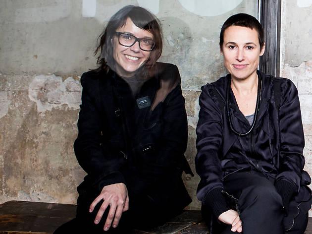 Txell Miras y Miriam Ponsa