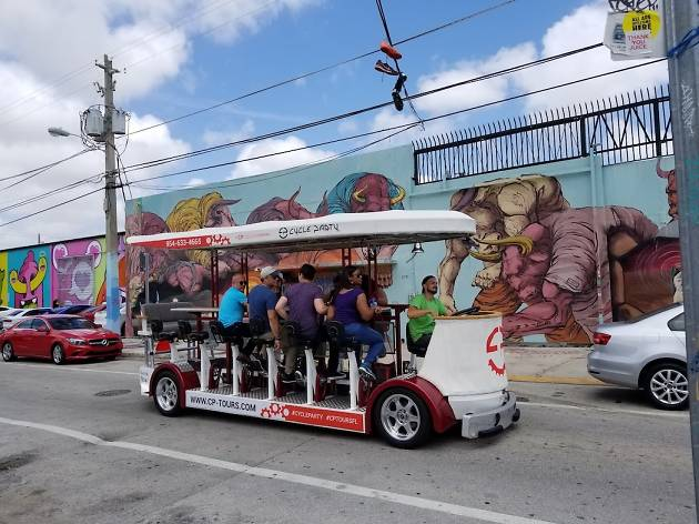 Hop on a Wynwood Cycle Party