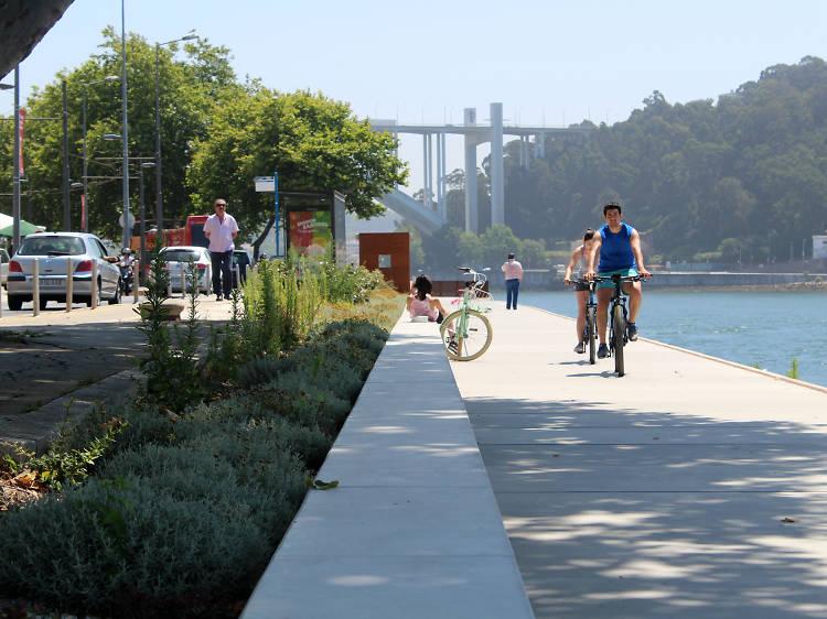 Vá correr ou andar de bicicleta