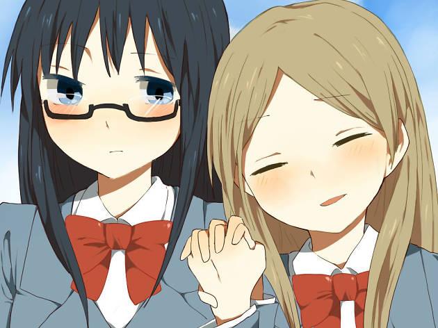 Sasameki Koto un anime de yuri